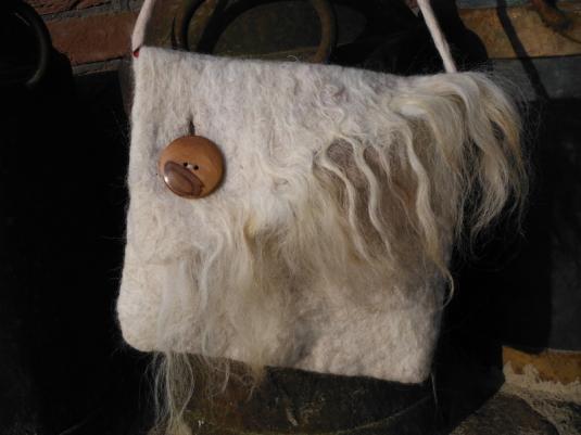 Tas van heideschaap verkocht