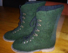 Gevilte schoenen